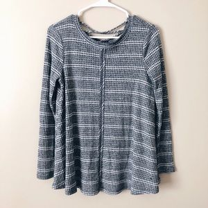 Altar'd State Striped Sweater - Small